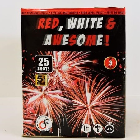 Red, White & Awesome!